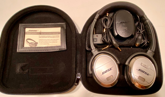Fone Bose Quietcomfort 3 Qc3 Noise Canceling Cancela Ruído
