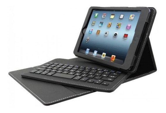 Capa Case Com Teclado Bluetooh Para iPad Mini E Tablets