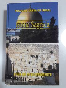 Livro : Biblia Sagrada - Fogueira Santa De Israel