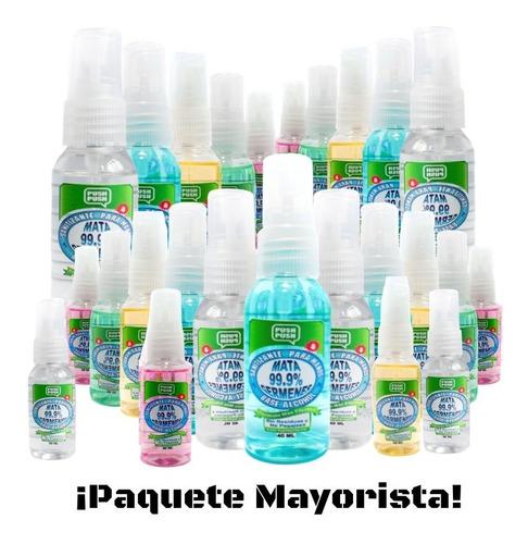Imagen 1 de 7 de Paquete Mayorista De 30 Sanitizantes Para Manos C/humectante