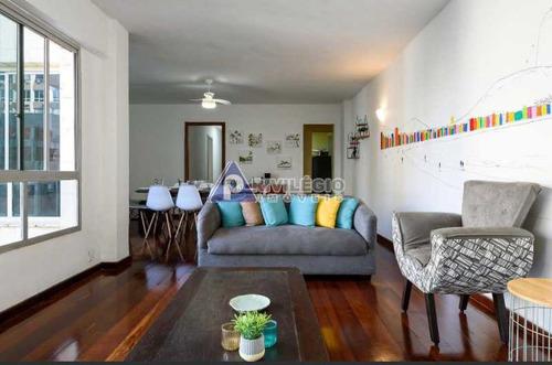 Apartamento À Venda, 4 Quartos, 2 Suítes, 3 Vagas, Copacabana - Rio De Janeiro/rj - 18852