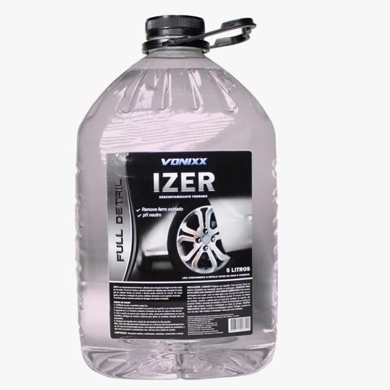 Izer 5l Descontaminante Ferroso Removedor Ferrugem Oxidação