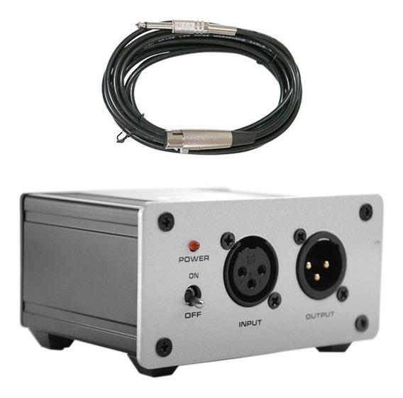 Kit Arcano Phantom Power Phan-01 + Cabo Xlr-p10
