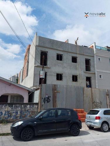 Imagem 1 de 1 de Cobertura Com 2 Dormitórios À Venda, 53 M² Por R$ 371.000,00 - Vila Tibiriçá - Santo André/sp - Co1173