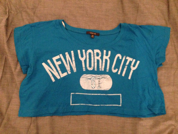 Top Pupera New York City Forever 21 Nueva Importada Us Mujer