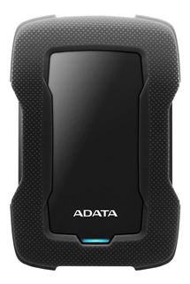 Disco duro externo Adata AHD330-2TU31 2TB negro