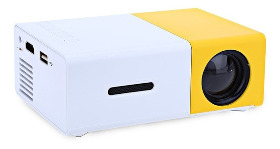 Mini Projetor Portátil Full Hd Led 600 Lumens Usb Sd Hdmi