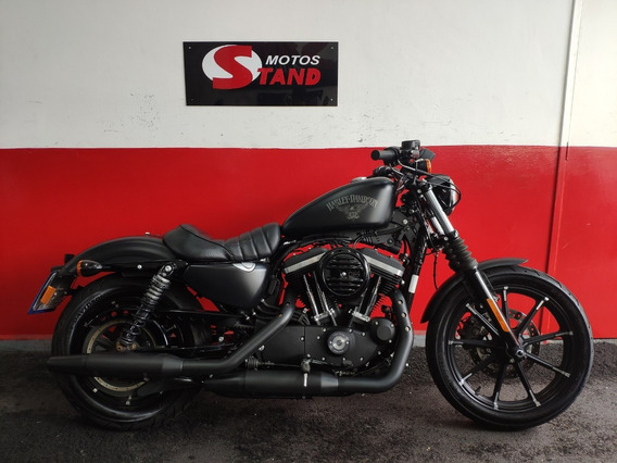 Harley Davidson Sportster Xl 883 N Iron Abs 2018 Preta Preto
