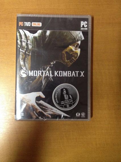 Pc Mortal Kombat X Novo Lacrado