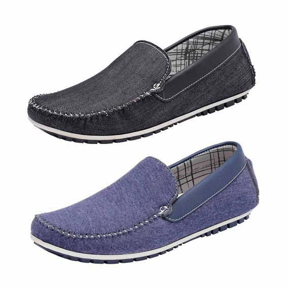 Kit 2 Pares Mocassim Masculino Avalon Kit-56 Docksiders