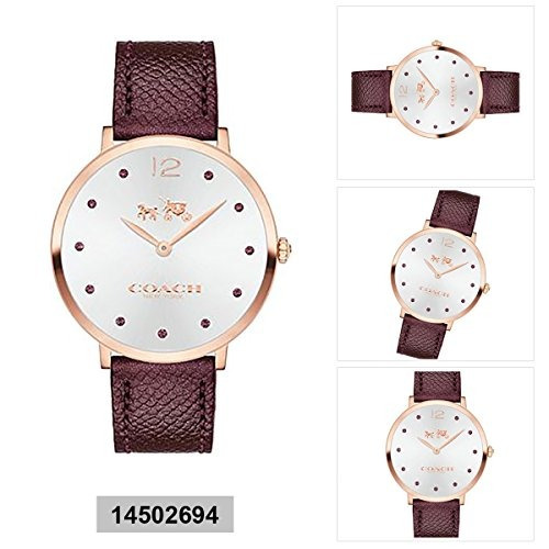 Cuarzo Slim Mujer Reloj Entrenador Watch La Vidr De Easton fmIYb7y6gv