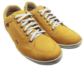 Sapato Em Couro Social Tênis Social Masculino Casual