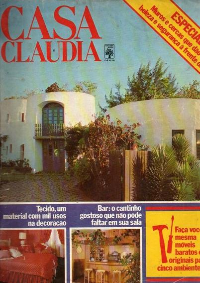 Revista Casa Claudia Ano 1979 Nº 213 - A (1350)