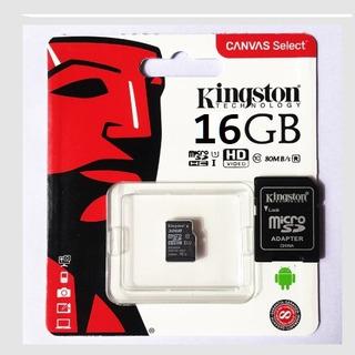 Cartão De Memória 16gb Kingston Micro Sdhc Original