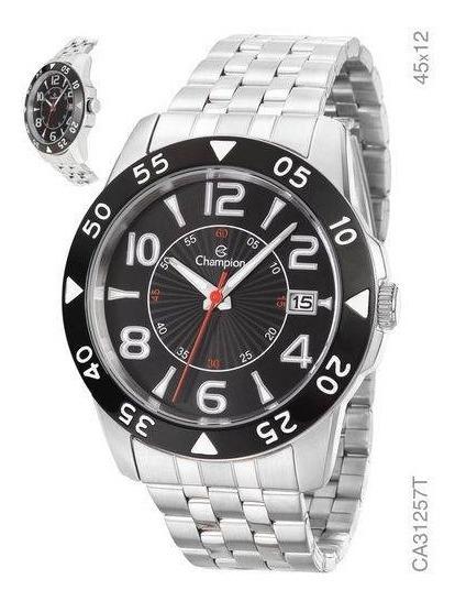 Relógio Champion Prateado Masculino Analógico Ca31257t