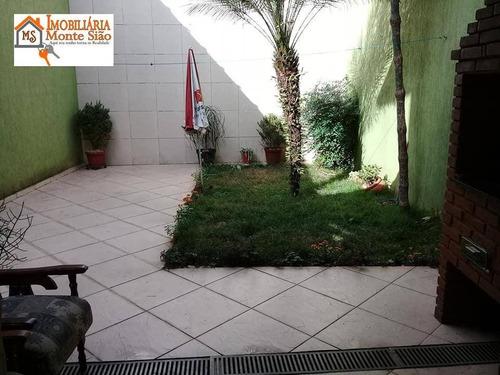 Sobrado Com 3 Dormitórios À Venda, 180 M² Por R$ 583.000,00 - Parque Continental Ii - Guarulhos/sp - So0404