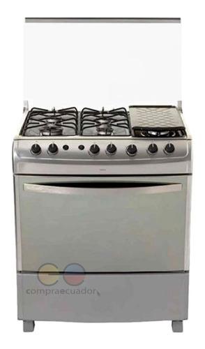Haceb Cocina 6 Quemadores Gas Encendido Eléctrico + Grill