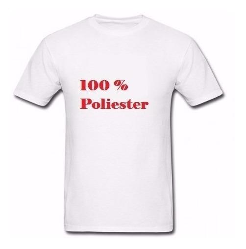 Lote 20 Camisetas Lisa 100% Poliester Camisa Para Sublimação
