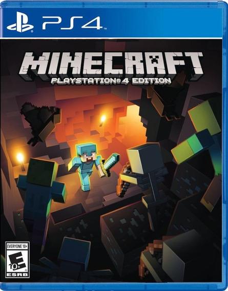 Minecraft Ps4 Psn Code 1 Envio Na Hora!