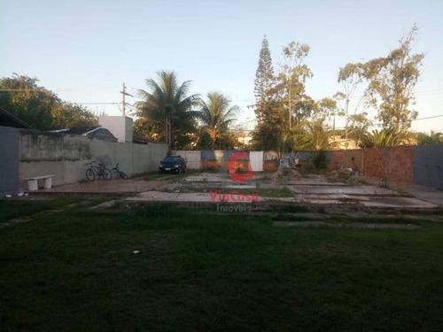 Imagem 1 de 12 de Terreno À Venda, 640 M² Por R$ 400.000,00 - Bosque Beira Rio - Rio Das Ostras/rj - Te0322