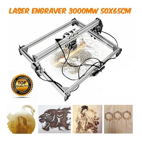 Máquina Para Grabado Láser 3000mw 50x65cm Entrega Inmediata