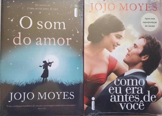 Como Eu Era Antes De Você + O Som Do Amor 2 Livros Frete 15