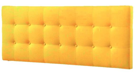 Cabecera Individual · Suede Amarillo, Recámara