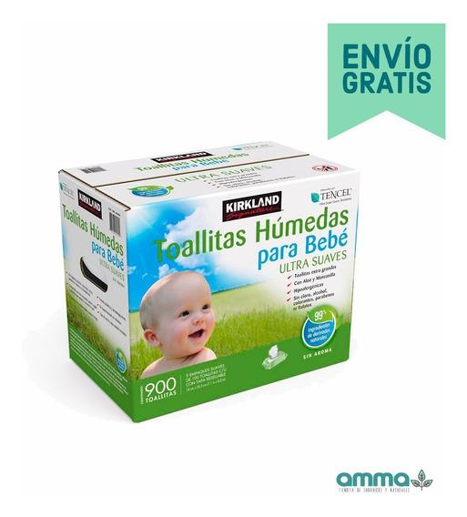 2 Cajas Toallitas Húmedas Para Bebé Kirkland - 1800 Piezas