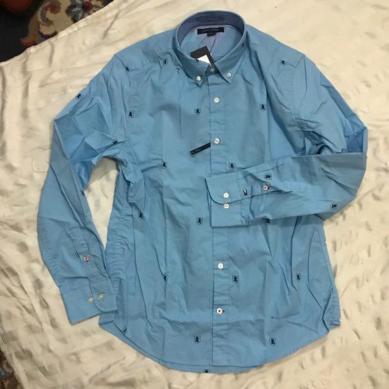Camisa Tommy Hilfiger Hombre Talla L