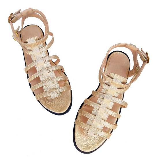 Sandalias Plata Gladiadora Talles Especial 41, 42, 43, 44,45