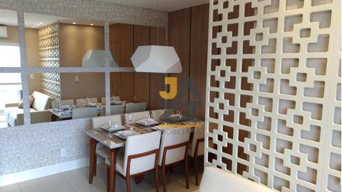 Lindo Apartamento Com 2 Dormitórios À Venda No Condomínio Villa Real, 58 M² Por R$ 217.000 - Jardim Bela Vista - Americana/sp - Ap6573