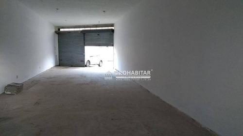 Imagem 1 de 3 de Salão Para Alugar, 75 M² Por R$ 2.500,00/mês - Cidade Dutra - São Paulo/sp - Sl0238