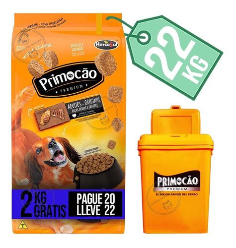 Alimento Primocao Perro Adulto Premium 22 Kg