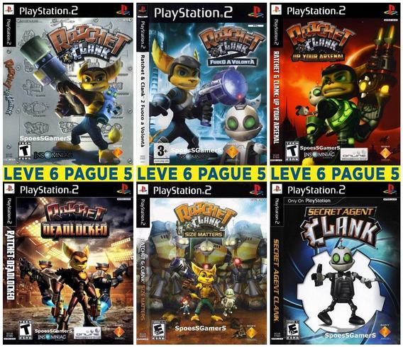 Ratchet & Clank Coleção (6 Jogos) Patch Ps2 Desbloqueado