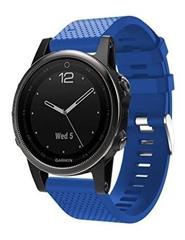 Garmin Fenix ??5s Watch Band, Moretoys Silicona Quick Fit Co