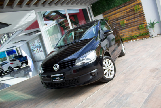 Volkswagen Vw Fox Highline 3p. Nafta 2010 Negro
