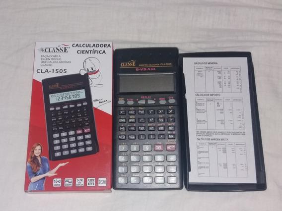 Calculadora Hp Casio Científica 12 Dígitosclasse Cla-1505
