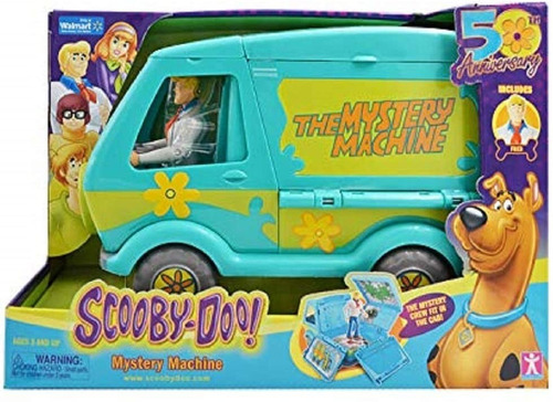 Scooby Doo Mystery Machine Original Van Kombi Carro 50 Anos