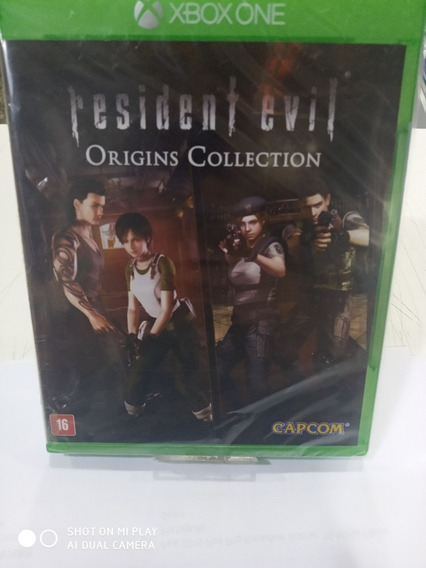 Jogo Resident Evil Origins Collection Xbox One Mídia Física