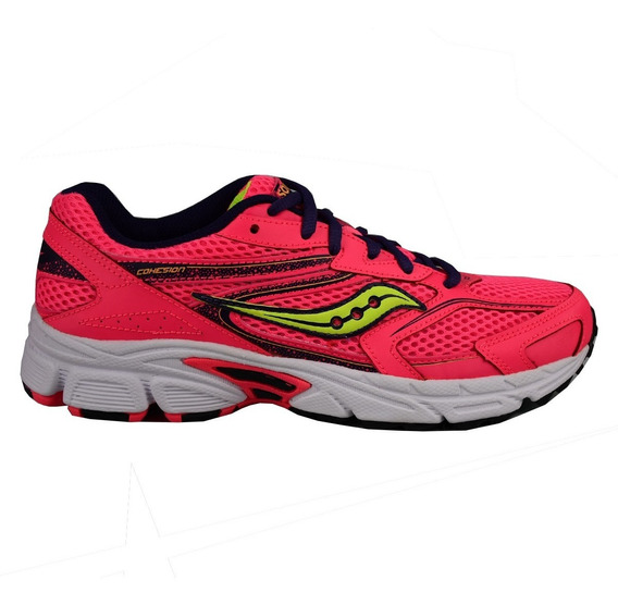 Tenis Saucony Mujer Rosa Sy Girl Cohesion 9 Sy55547
