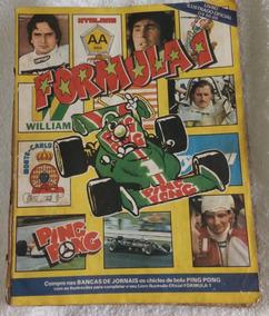 Álbum Completo Da Fórmula1 De 1982
