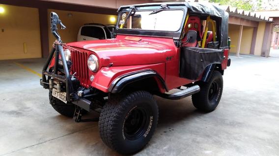 Jeep Cj5 4x4 1964 Pronto Para Trilha Ateliê Do Carro
