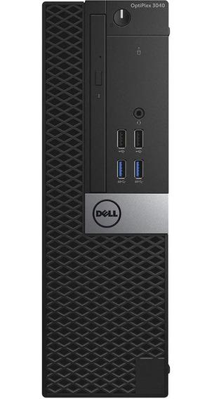Cpu Dell Optiplex 3040 Sff I3-6100 4gb Ram - 500 Gb De Hd