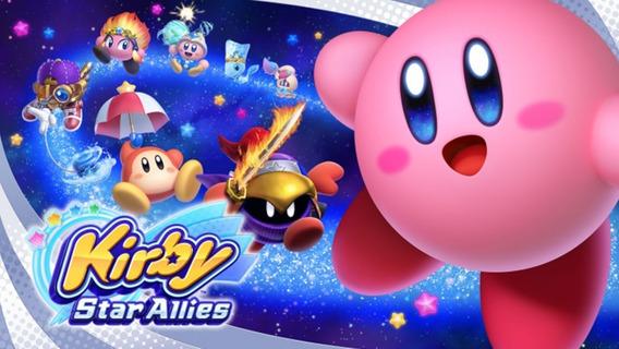 Kirby Star Allies Mídia Digital Switch