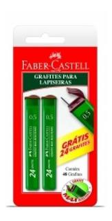 Grafite 0,5mm 02 Unidades 2b Smtmgo52b Faber Blister