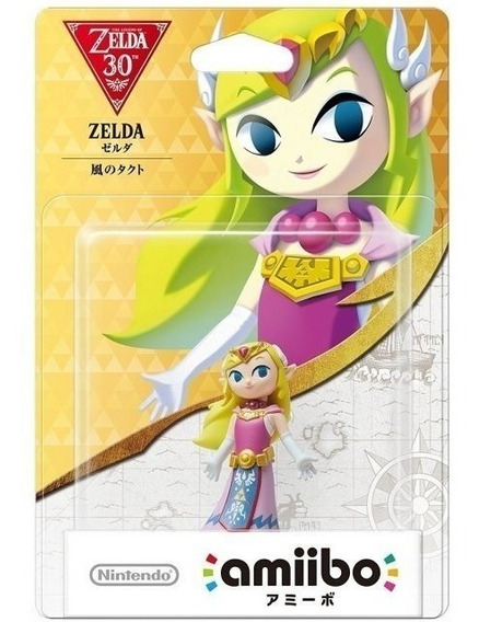 Amiibo Toon Zelda Wind Waker 30th Nintendo Wii U 3ds Switch