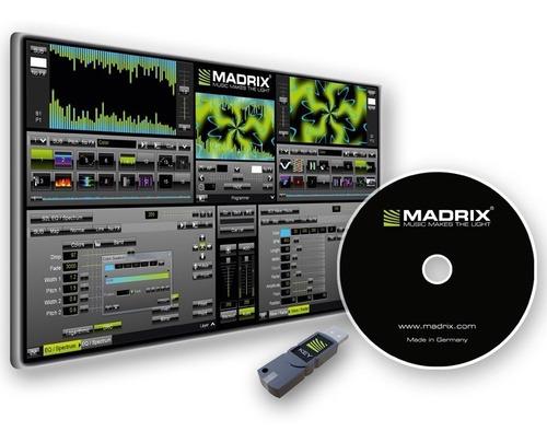 Licencia Madrix 5 Dongle Usb Key Start 2x512 Ch Dmx Dvi @tl