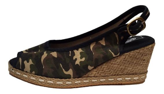 Sandalias De Mujer Con Taco Chino - 306
