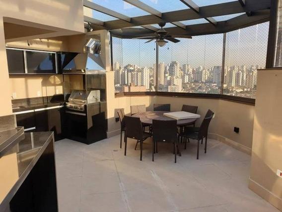 Cobertura Com 3 Dormitórios À Venda, 229 M² Por R$ 2.200.000,00 - Vila Da Saúde - São Paulo/sp - Co0052