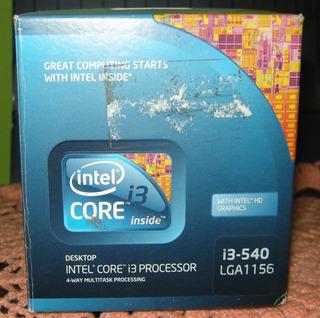 Procesador Intel Core I3-540 3,06 Ghz/4m/89a Lga 1156